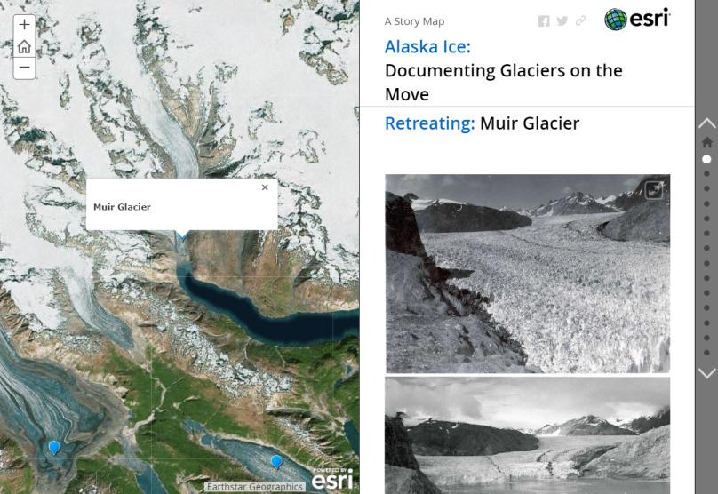 glaciers on the move alaska