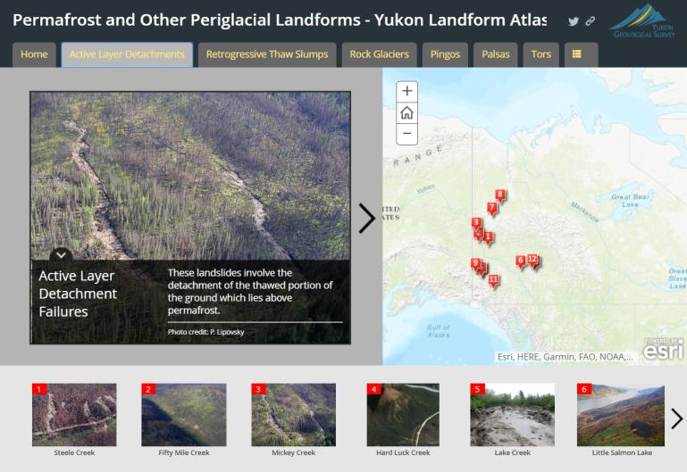 periglacial landforms